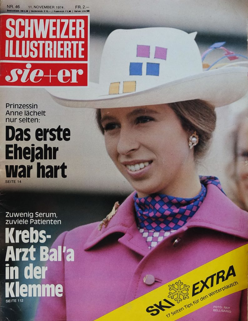 Princess Anne sixties fashion icon the crown