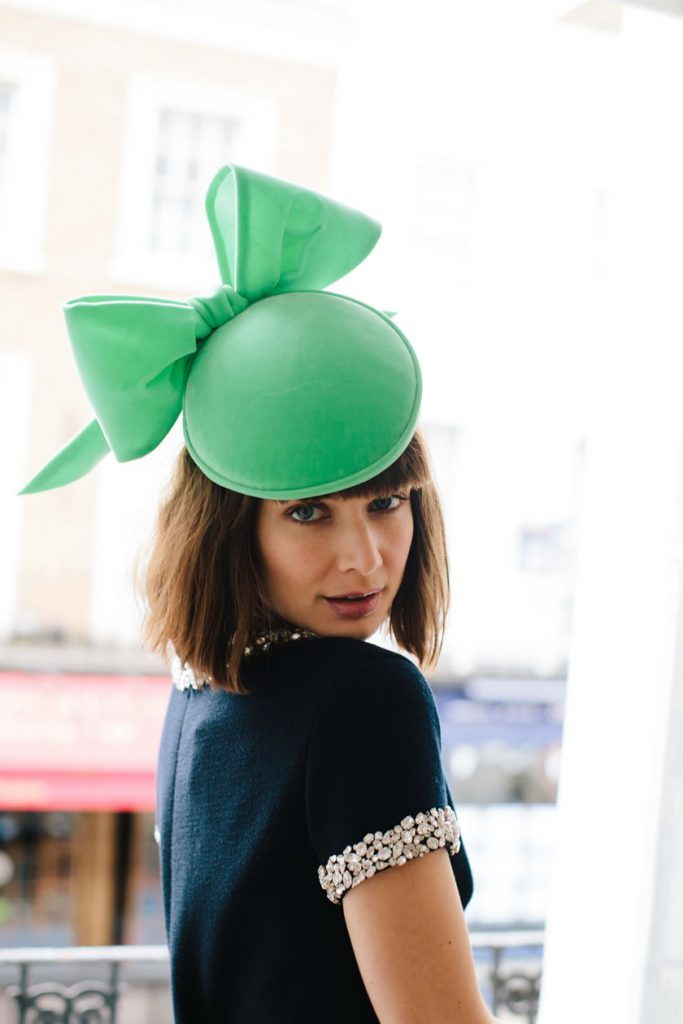 large green bow
